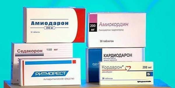Таблетки и другие лекарства от тахикардии